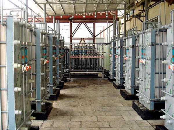 某湿法冶铜企业电解贫液H2S04回收项目